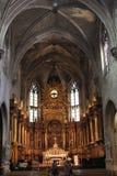 Interior of Saint Peter Church in Avignon Royalty Free Stock Photos