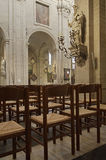 Interior of saint peter's church Royalty Free Stock Photography