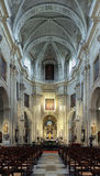 Interior of the Saint Peter's Church in Ghent Stock Photos