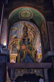The interior of the Saint Sophia Cathedral in Veliky Novgorod, Russia Royalty Free Stock Photos