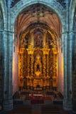 Interior of Saint Stephen Convent in Salamanca, Spain Royalty Free Stock Photos