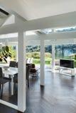 Interior, sala de estar Imagen de archivo
