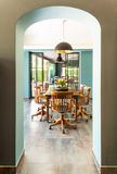 Interior, sala de jantar Fotografia de Stock Royalty Free