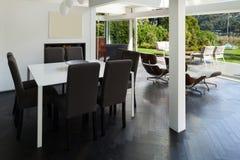 Interior, sala de jantar Foto de Stock