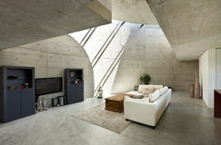 Interior, sala de visitas Fotografia de Stock