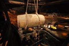 Interior in salt mines in Wieliczka Stock Images