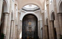 Interior of the San Giovanni Battista,Turin, Ital Royalty Free Stock Photo