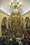 Interior of San Lazaro Catholic Church, El Rincon, Cuba, Stock Image