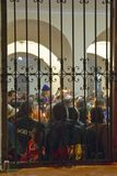 Interior of San Lazaro Catholic Church, El Rincon, Cuba, Royalty Free Stock Image