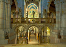 Interior of San Zeno Royalty Free Stock Images