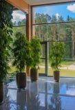 The interior of the sanatorium.   Druskininkai, Lithuania Royalty Free Stock Photos