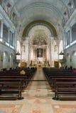 Interior of Sanctuary  of Fatima, Estremadura, Portugal Stock Images