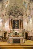Interior of Sanctuary  of Fatima, Estremadura, Portugal Royalty Free Stock Image