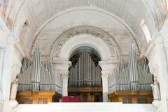Interior of Sanctuary  of Fatima, Estremadura, Portugal Royalty Free Stock Photos