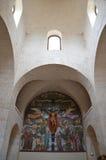Interior of the Sant'Antonio church in Alberobello Stock Image