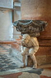 Interior of Santa Anastasia Church, Verona, Italy Royalty Free Stock Photography