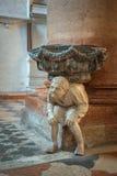Interior of Santa Anastasia Church, Verona, Italy Royalty Free Stock Photography