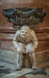 Interior of Santa Anastasia Church, Verona, Italy Stock Photos