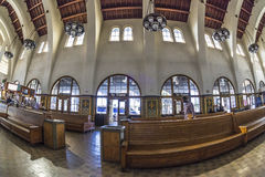 Interior of santa fe train station in san diego Stock Photography