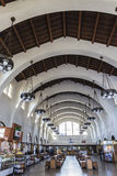 Interior of santa fe train station in san diego Royalty Free Stock Images