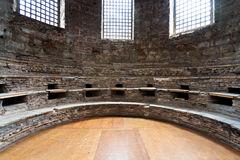 Interior of Santa Irine church in Istanbul royalty free stock photos
