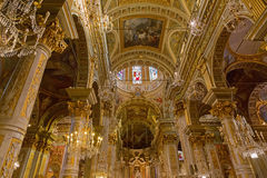 Interior of Santa Margherita Church (Basilica of Santa Margherit Royalty Free Stock Photos