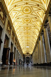 Interior of the Santa Maria Maggiore royalty free stock images