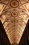 Interior of the Santa Maria Maggiore. One of the aisles of Basilica Santa Maria Maggiore (Papal Basilica Saint Mary Major). Rome, Italy Royalty Free Stock Photos