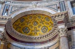 The interior of Santa Maria Maggiore's Church Stock Photo