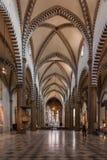 The interior of Santa Maria Novella church in Florence, Italy Stock Photography