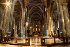 Interior of Santa Maria Sopra Minerva Royalty Free Stock Image