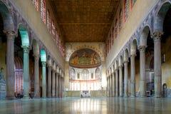 Interior of Santa Sabina Stock Images