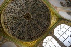 Interior of Santa Sofia in Istanbul Stock Images
