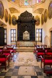 Interior of Santo Domingo cathedral Royalty Free Stock Photography