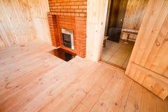 Interior Of The Sauna Stock Photos