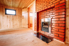 Interior Of The Sauna Royalty Free Stock Photo