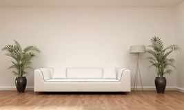 Interior scene sofa Royalty Free Stock Photo