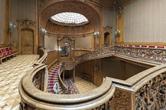 Interior of The Scientists` House in Lviv, Ukraine Stock Photo