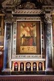 Interior of Scuola di San Giorgio degli Schiavoni Royalty Free Stock Images