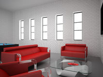 Interior set hundred eighty one Royalty Free Stock Image