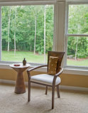 Interior Setting By Window Showing Outside View Stock Image