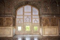 Interior Sheesh Mahal (palacio de espejos) Fotografía de archivo