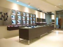 Interior of shop. For men Stock Photos