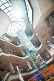 Interior of the shopping center Stock Photo