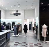 Interior of shopping mall Stock Image