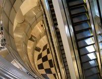 Interior, shopping mall. Elevator in shopping mall, Bangkok Thailand Stock Photography
