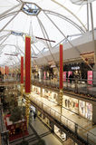 Interior of a shopping mall Royalty Free Stock Photos