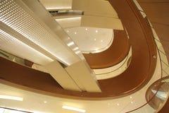 Interior shopping mall Stock Image