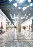 Interior of a shopping mall Stock Photography