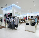 Interior of shopping mall Stock Images